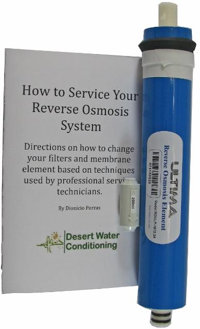 Ultima Reverse Osmosis Membrane 24 Gpd Desert Water