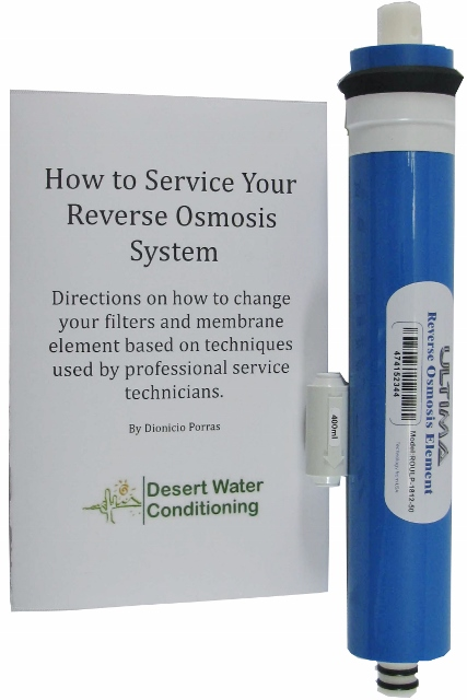 Ultima Reverse Osmosis Systems 50 Gpd Membrane